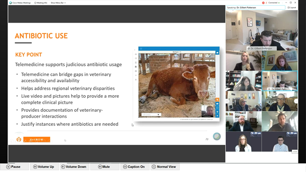 Dr. Gil Patterson presented to the Presidential Advisory Council on Combating Antibiotic Resistant Bacteria (PACCARB) | MicrosoftTeams image 20 | VetNOW | Veterinary Telemedicine Platform for Veterinary Specialty Care | 1000 Noble Energy Drive, Suite 600 Pittsburgh, PA 15317 | https://vetnow.com/